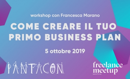 Come creare il tuo primo business plan | Workshop
