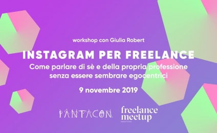 Instagram per freelance | Workshop